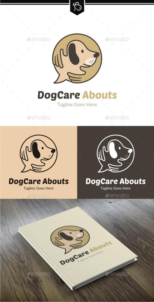Dog Care Abouts Logo - Animals Logo Templates