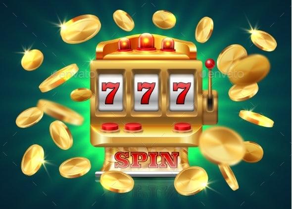 Casino Slot Machine - Miscellaneous Vectors