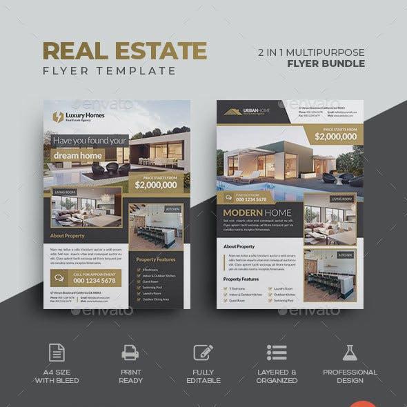 Real Estate Flyer Bundle 01