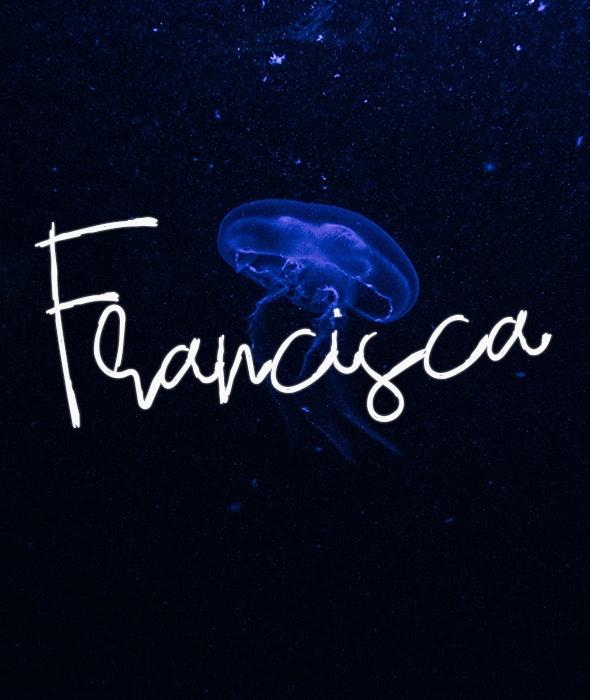 Francisca - Script Fonts