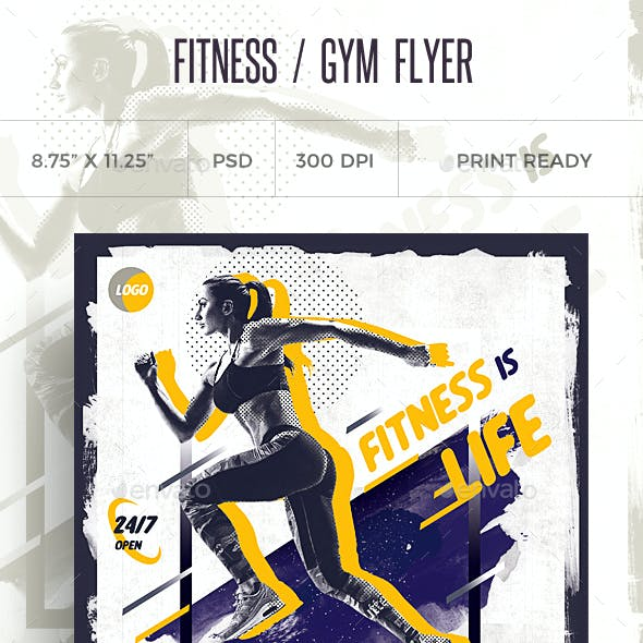 Fitness Flyer / Gym Flyer V9