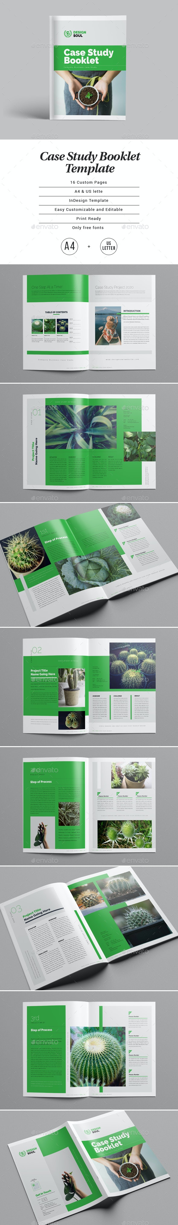Case Study Booklet - Informational Brochures