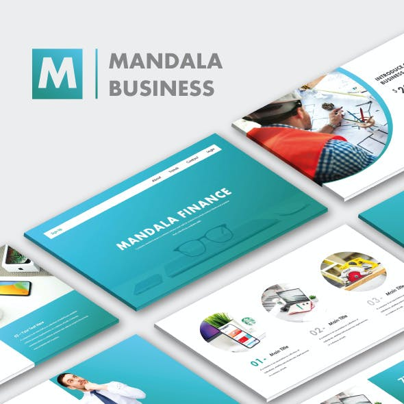 Mandala Finance PowerPoint Templates