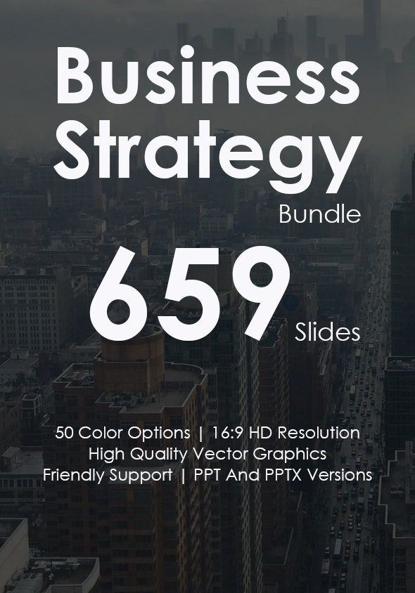 Business Strategy - Powerpoint Presentations Bundle - Business PowerPoint Templates