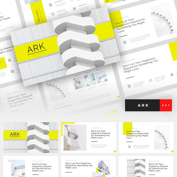 Architect Presentation Templates from GraphicRiver