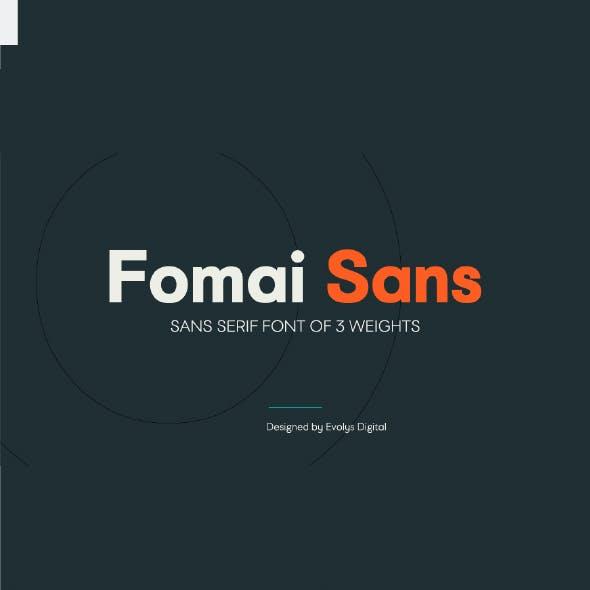 Fomai Sans Serif Font