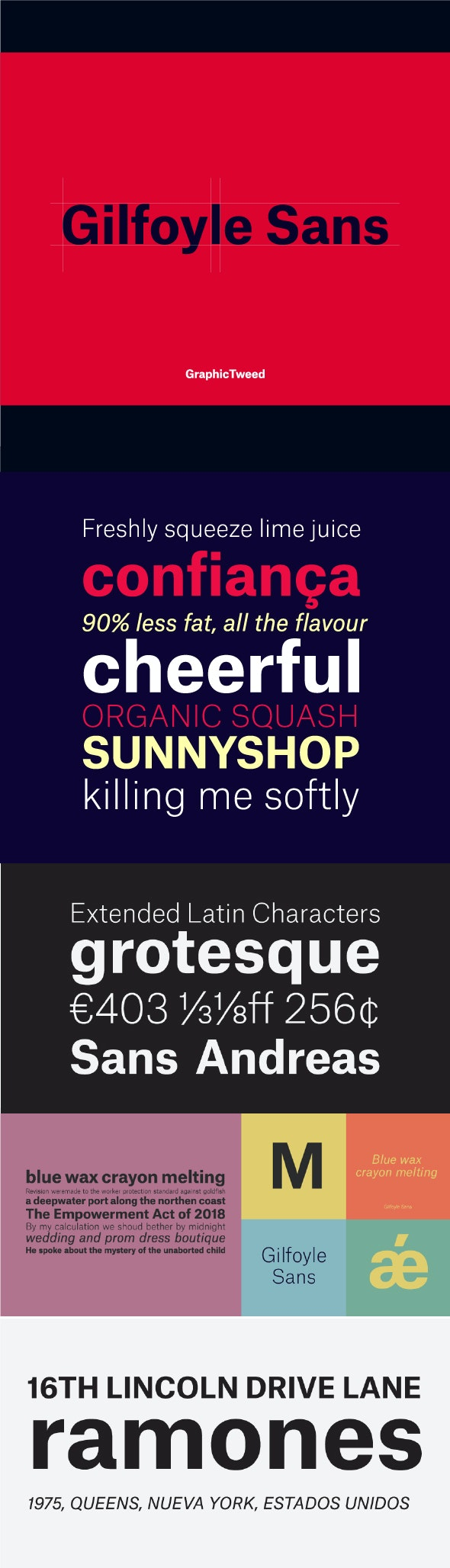 Gilfoyle Sans Serif Font - Sans-Serif Fonts