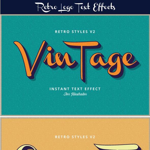Retro Text Effects V2