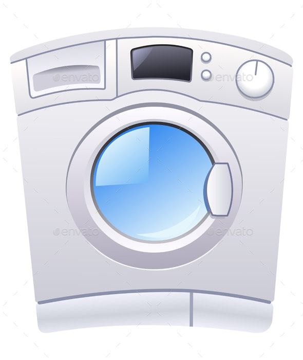 Washing Machine - Man-made Objects Objects