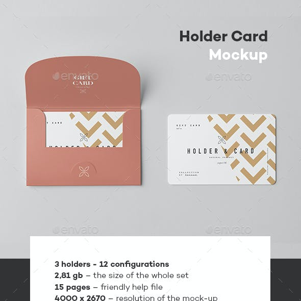 Holder & Card Mock-Up