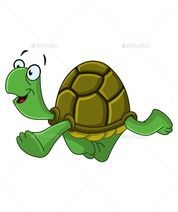 Walking Turtle - Animals Characters