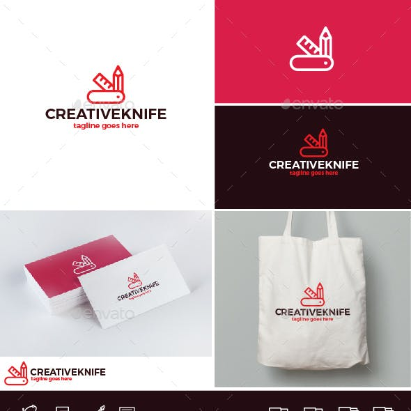 Creative Knife Logo