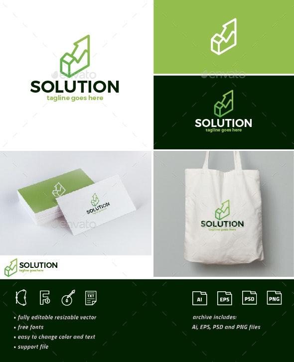 Solution Logo - Company Logo Templates