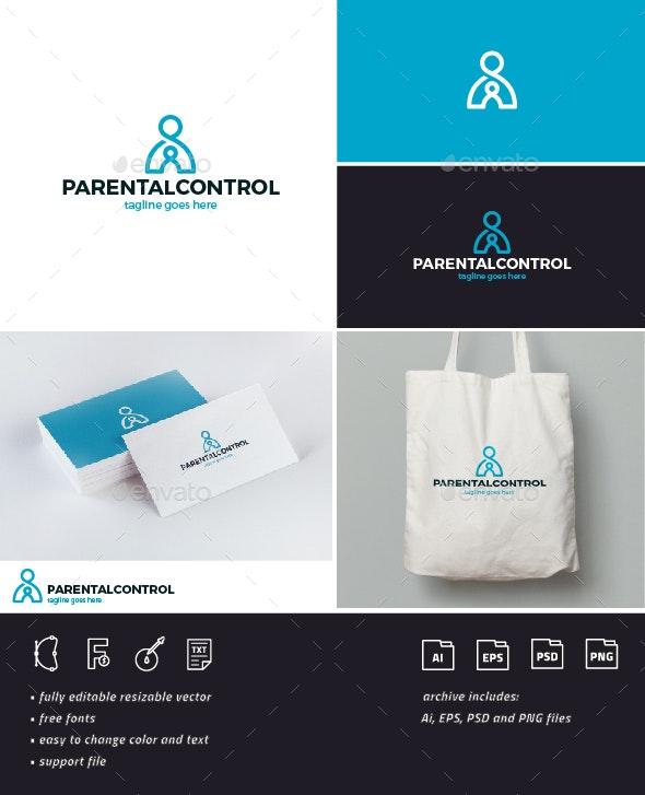 Parental Control Logo - Humans Logo Templates