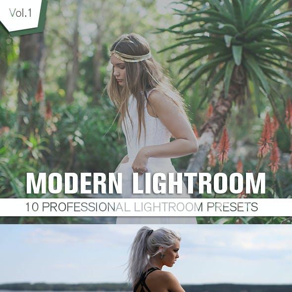 10 Modern Lightroom Presets