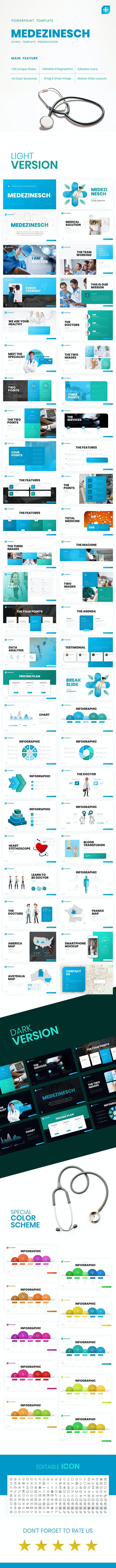 Medezinesch - Medical PowerPoint Template - PowerPoint Templates Presentation Templates