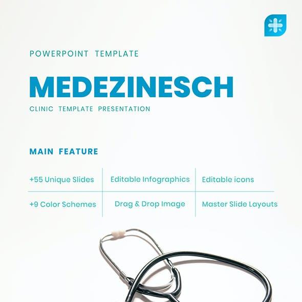 Medezinesch - Medical PowerPoint Template