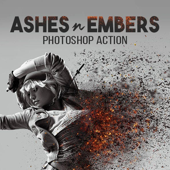Ashes n Embers Photoshop Action