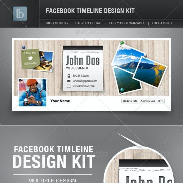 Facebook Timeline Cover Design Kit