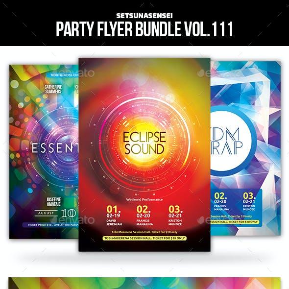 Party Flyer Bundle Vol.111