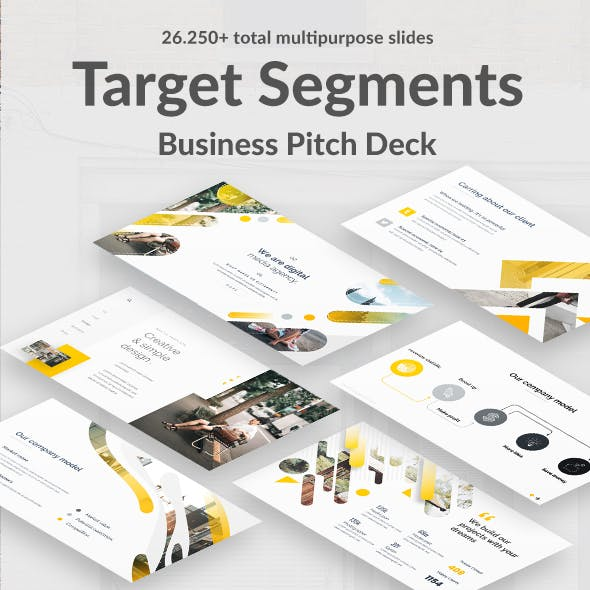 Target Segments Pitch Deck Powerpoint Template