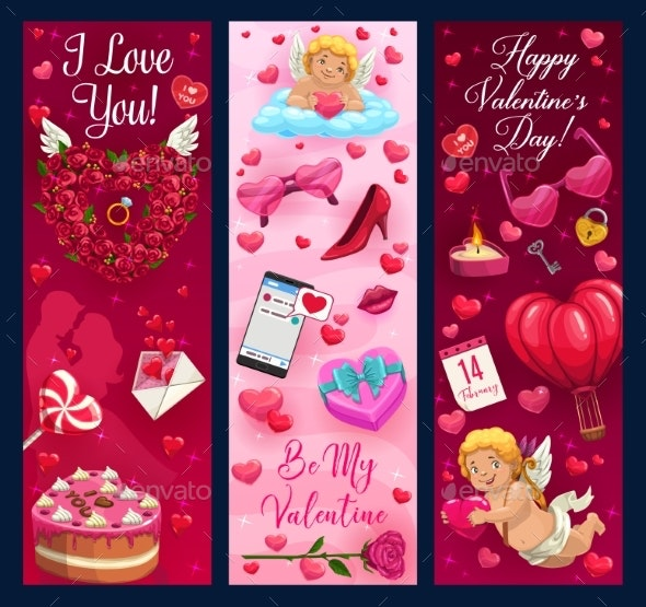 Valentines Day Gifts, Wedding Ring and Hearts - Valentines Seasons/Holidays