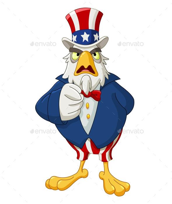 Uncle Sam Eagle - Miscellaneous Seasons/Holidays