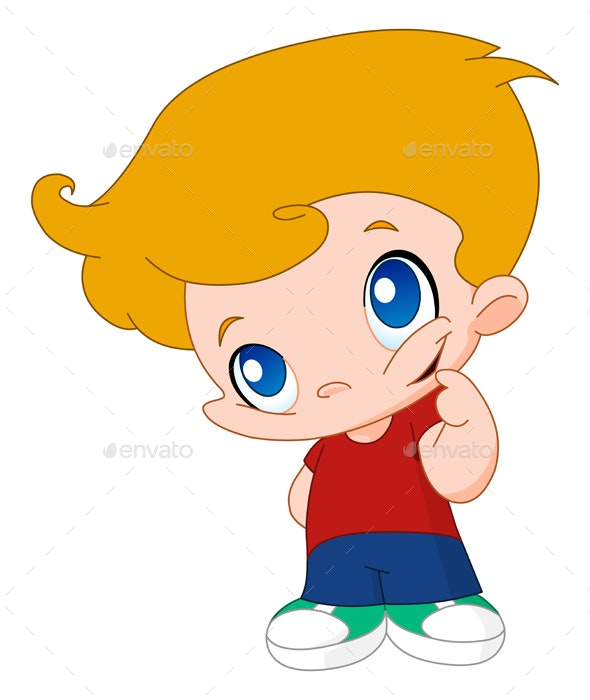 Little Boy - People Characters