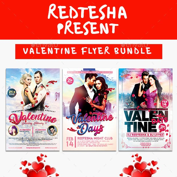 Valentine Flyer Bundle