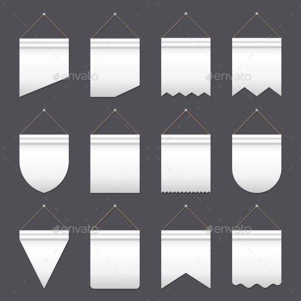 Set of Various Flags - Miscellaneous Vectors