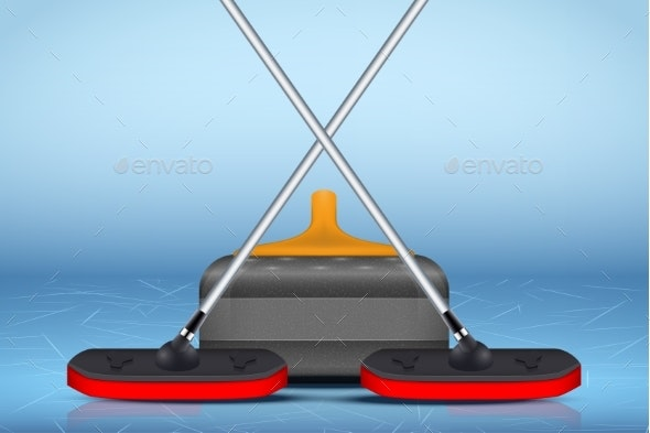 Curling Sport Equipment - Sports/Activity Conceptual