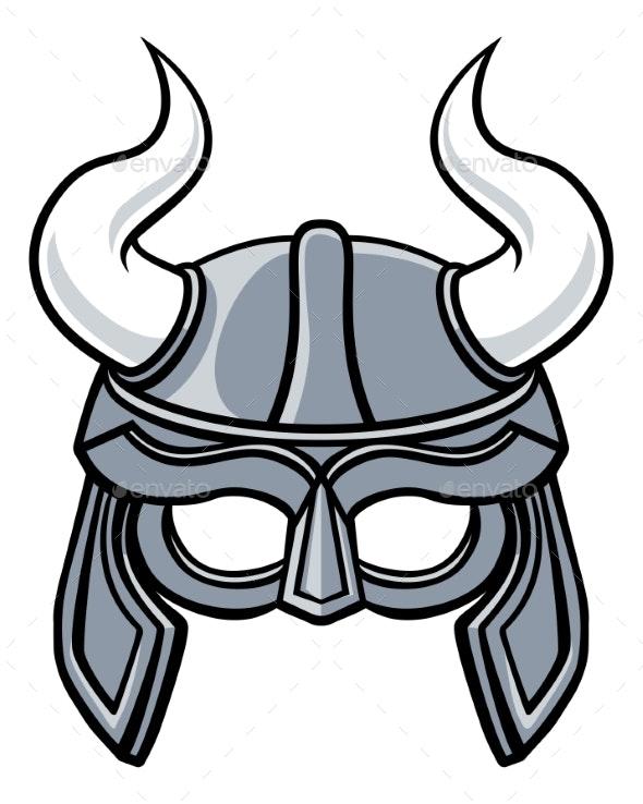 Viking Helmet - Sports/Activity Conceptual