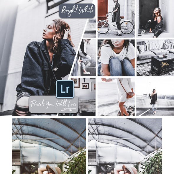 Bright White Mobile Desktop Lightroom Presets