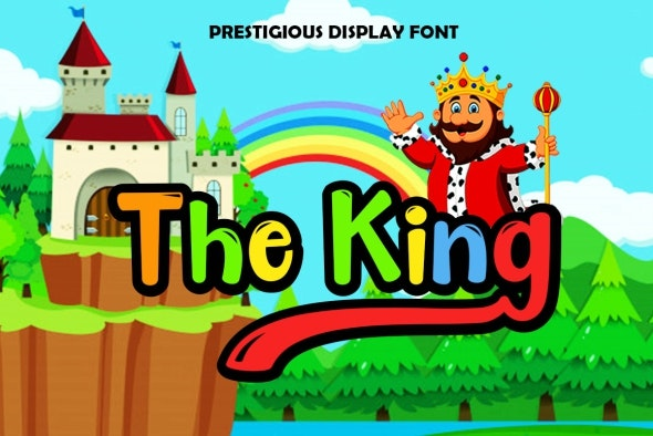 The King Display - Miscellaneous Script