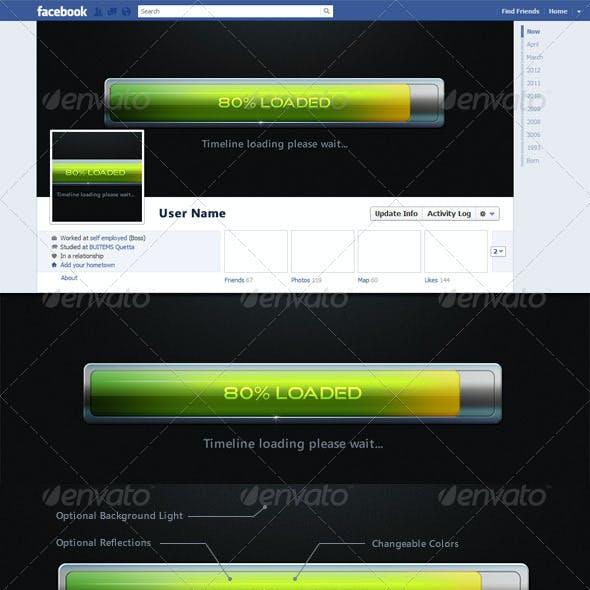 Facebook Timeline Cover - Loading
