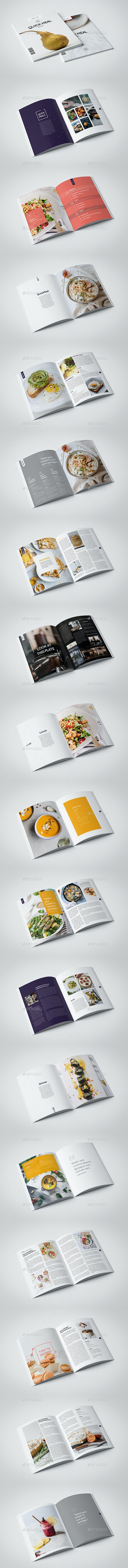 InDesign Food Magazine Template - Magazines Print Templates