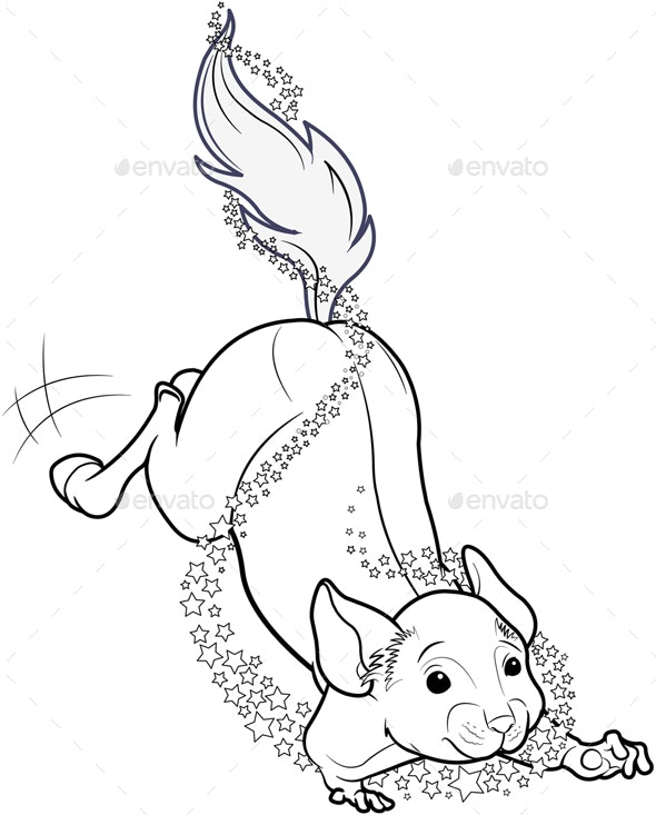 Mice Turned Into Horse - Animals Characters