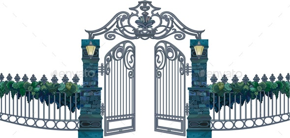 The Gates - Man-made Objects Objects