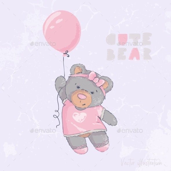 Sweet Bear - Animals Characters