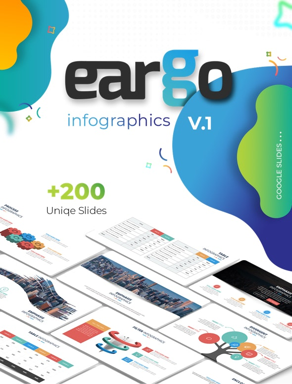 Eargo - Infographics PowerPoint Template - Creative PowerPoint Templates