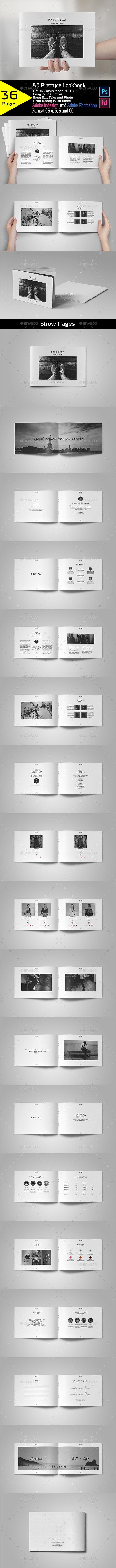 Prettyca Lookbook - Catalogs Brochures