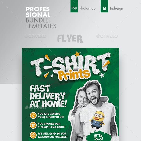 T-Shirt Print Bundle Templates