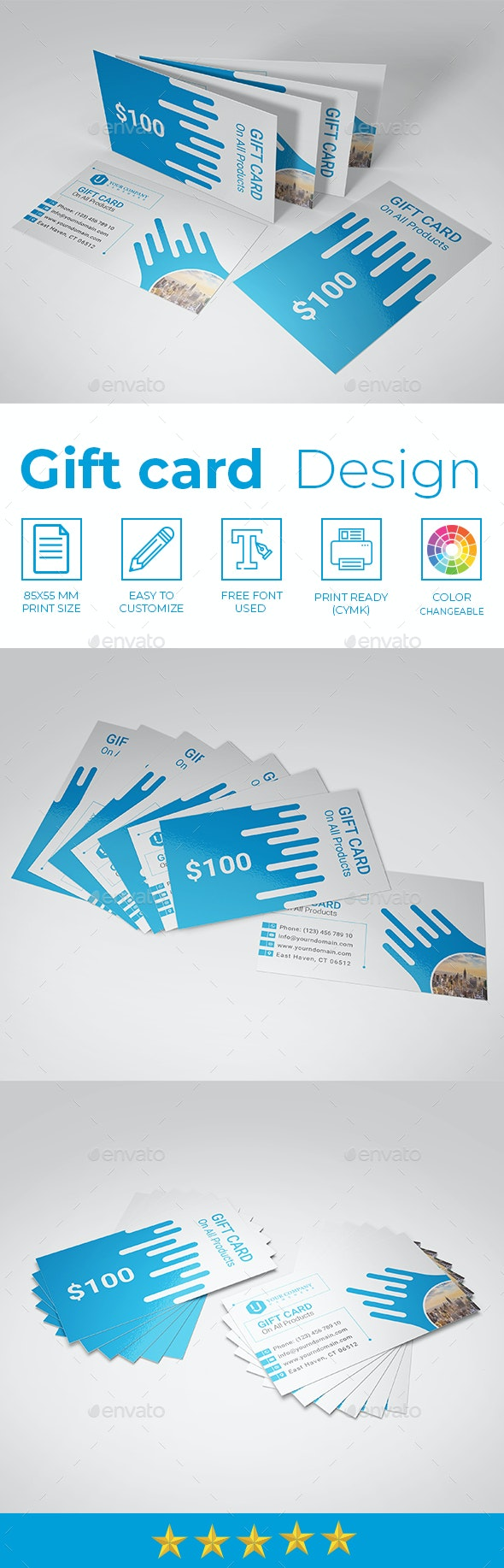 Gift Card - Loyalty Cards Cards & Invites