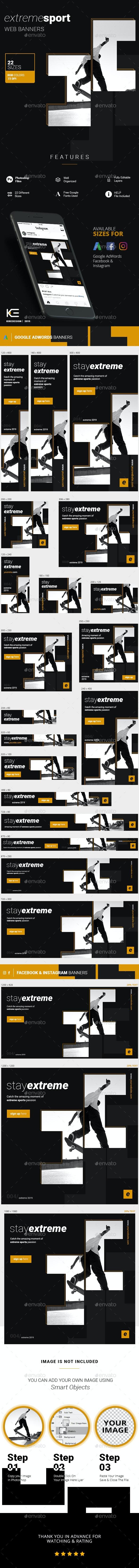 Sport Banners - Social Media Web Elements