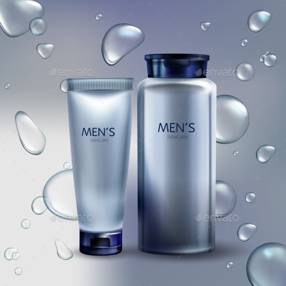 Vector Cosmetics for Men - Man-made Objects Objects