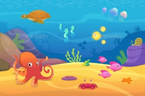 Underwater Life - Miscellaneous Vectors