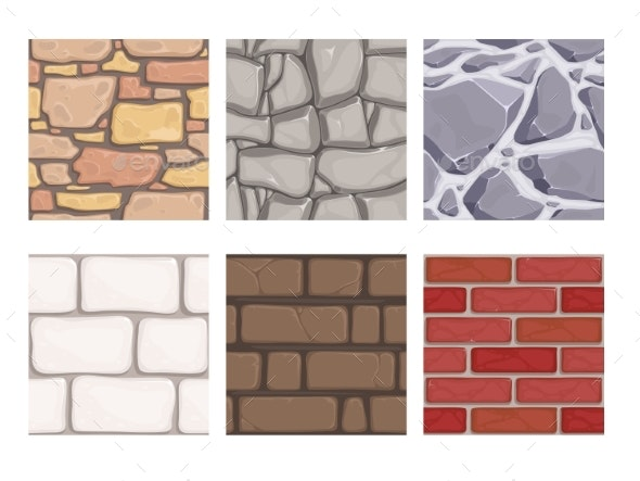 Wall Game Textures - Miscellaneous Vectors