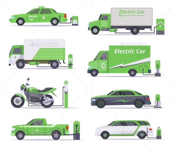 Eco Cars - Man-made Objects Objects