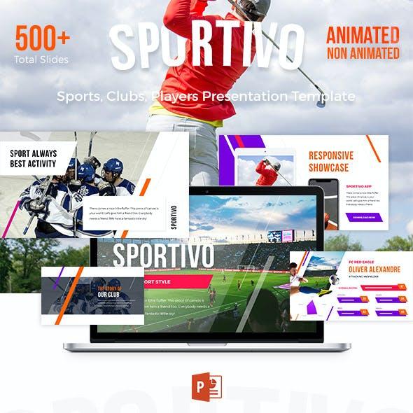 Sport Powerpoint Template - Sportivo