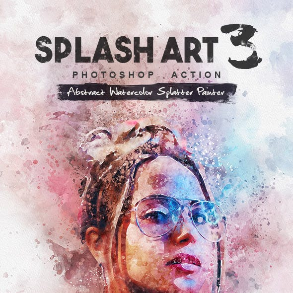 Splash Art 3 Photoshop Action